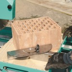 M400_Smart in lucru Masina de taiat caramida, piatra naturala si tigla Imer (3)