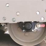 sistem franare cilindru vibrocompactor